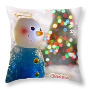 Christmas Blessings Throw Pillow
