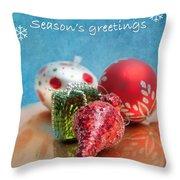 Christmas Card 6 Throw Pillow