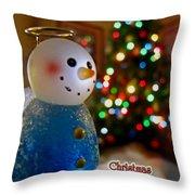 Christmas Card II Throw Pillow