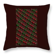 Christmas Cards And Phone Cases Throw Pillow