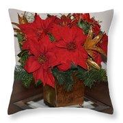 Christmas Centerpiece Throw Pillow