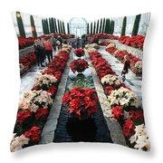 Christmas Color Throw Pillow