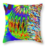 Christmas Colour Throw Pillow