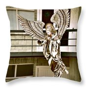 Christmas Comes But Once A Year Throw Pillow