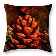 Christmas Cone Throw Pillow