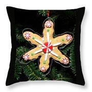 Christmas Cookie Throw Pillow