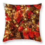 Christmas Dazzle Throw Pillow