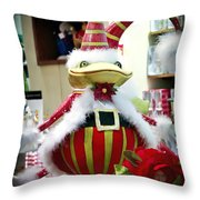 Christmas Decor Throw Pillow by Jon Berghoff