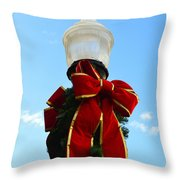 Christmas Decorations Throw Pillow