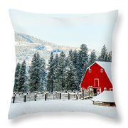 Christmas Dreams Throw Pillow
