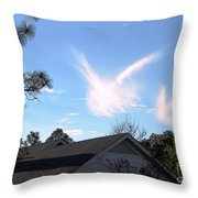 Christmas Eve Angels 2010 Throw Pillow