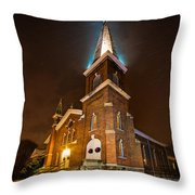 Christmas Eve Throw Pillow by Everet Regal