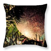 Christmas Glitter Throw Pillow
