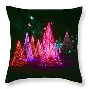 Christmas Hues Throw Pillow