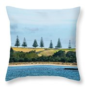 Christmas In A Row.nz Throw Pillow