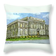 Christmas In Carrollton Ga Throw Pillow