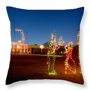 Christmas In Cayce-1 Throw Pillow