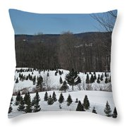Christmas In March Throw Pillow