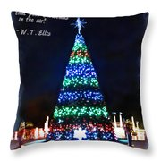 Christmas In The Air Throw Pillow