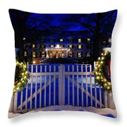 Christmas In The Country Throw Pillow