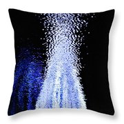 Christmas In The Water Throw Pillow