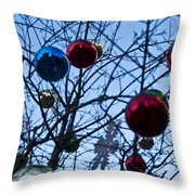 Christmas Is Looking Up This Year Throw Pillow