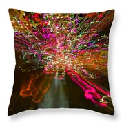 Exploding   Lights  Throw Pillow