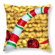 Christmas Lights Throw Pillow