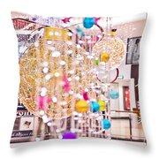 Christmas Lights V2 Throw Pillow