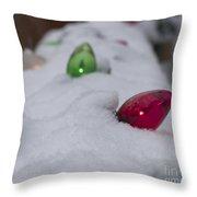 Christmas Lights1 Throw Pillow