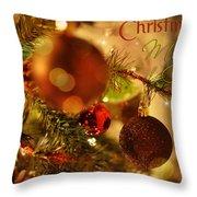 Christmas Magic Throw Pillow