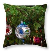 Christmas Bling #6 Throw Pillow
