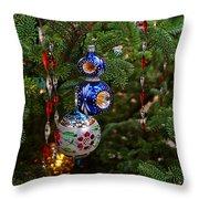 Christmas Bling #7 Throw Pillow