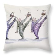 Christmas Pudding Throw Pillow