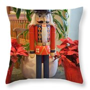 Christmas Sentinel  No 1 Throw Pillow