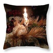 Christmas Shining Light Throw Pillow