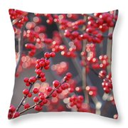 Christmas Sparkles Throw Pillow