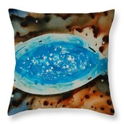 Spirit  - Fish Art By Sharon Cummings Throw Pillow