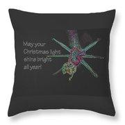 Christmas Star Light 26762 Ge Throw Pillow