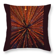 Christmas Tree At Warp Speed I Throw Pillow
