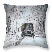 Christmas Tree Throw Pillow