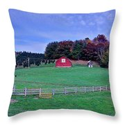 Christmas Tree Farm Throw Pillow