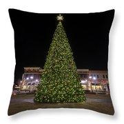 Christmas Tree Hampton City Center  Throw Pillow
