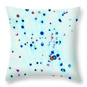 Christmas Tree Lights Invert Throw Pillow