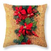 Christmas Wall Hanging Throw Pillow