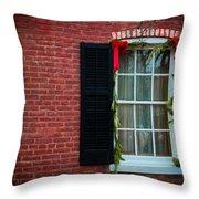 Christmas Window #1 Throw Pillow