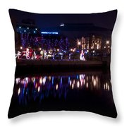 Christmases Past Throw Pillow
