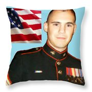 Christopher Nutting Throw Pillow