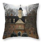 Christopher Wren Building Throw Pillow