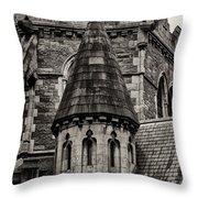 Christs Church - Dublin Ireland Throw Pillow